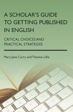 A Scholar's Guide to Getting Published in English