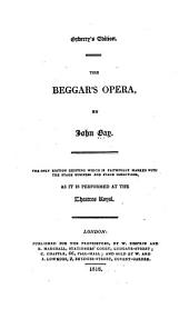 Acted Drama: The beggar's opera, by John Gay. 1818; Blue Beard, by George Colman. 1823; Guy Mannering