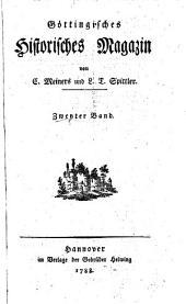 Göttingisches historisches Magazin: Band 2
