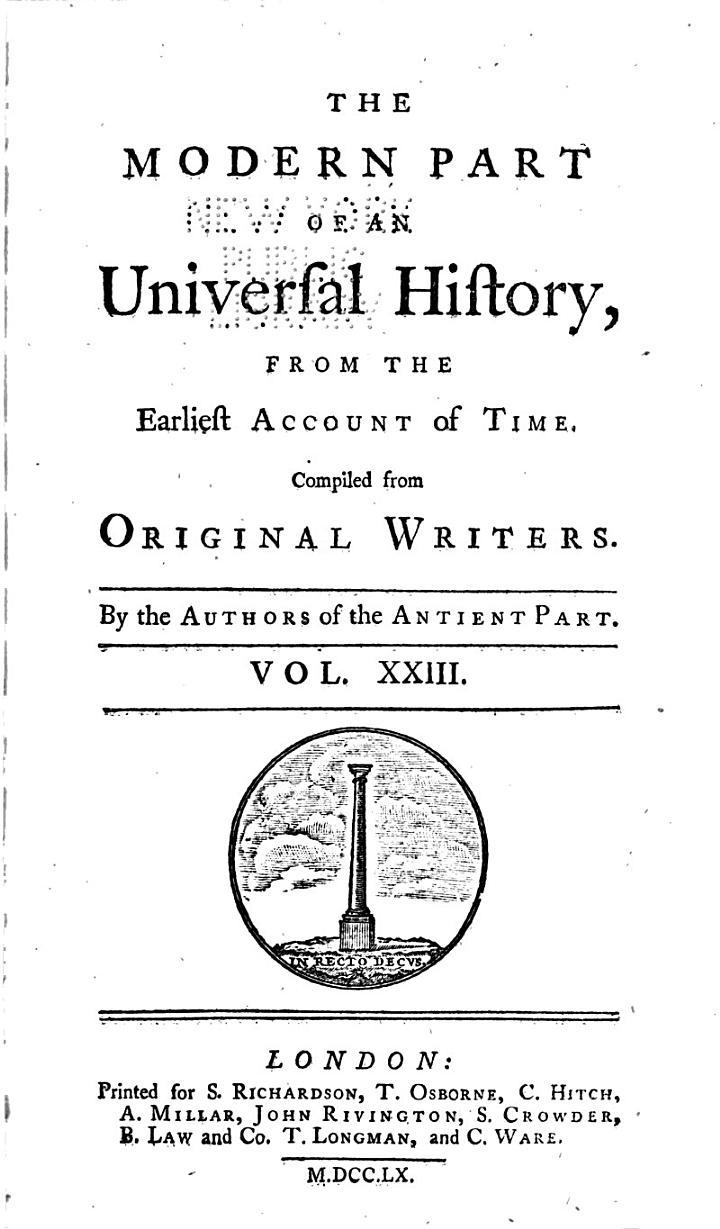 An Universal History