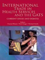 International Trade in Health Services and the GATS PDF