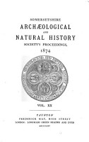 Proceedings of the Somersetshire Archaeological and Natural History Society PDF