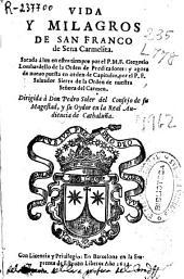 Vida y milagros de San Franco de Sena carmelita