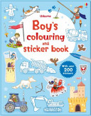 Boys  Colouring and Sticker Book
