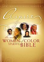 NIV  Aspire  The New Women of Color Study Bible  eBook PDF