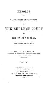 United States Reports: Cases Adjudged in the Supreme Court, Volume 53