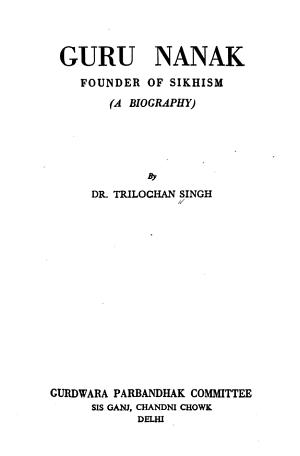 Guru Nanak  Founder of Sikhism PDF