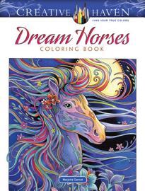 Creative Haven Dream Horses Coloring Book