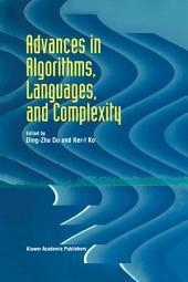 Advances in Algorithms, Languages, and Complexity