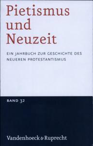 Pietismus Und Neuzeit   2006 PDF