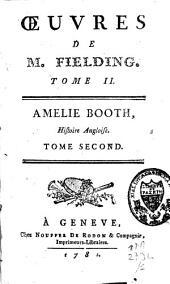 Amélie Booth: histoire angloise