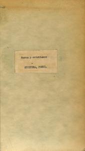 Moros y cristianos: Folleto satírico-político (diciembre de 1849)