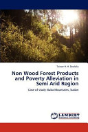 Non Wood Forest Products and Poverty Alleviation in Semi Arid Region PDF