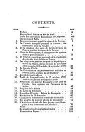 Considérations sur les principaux évènements de la Révolution française: le directoire, ed. with grammatical, historical and explanatory notes &c. by V. Oger