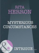 Mysterious Circumstances  Mills   Boon Intrigue   Nighthawk Island  Book 6  PDF