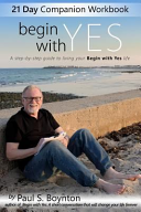 Begin with Yes   21 Day Companion Workbook PDF