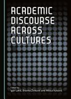 Academic Discourse across Cultures PDF