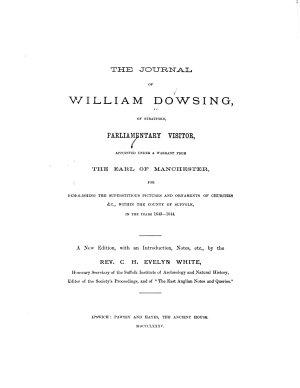 The Journal of William Dowsing PDF