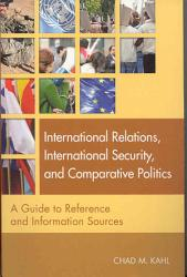 International Relations International Security And Comparative Politics Book PDF