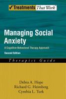 Managing Social Anxiety PDF