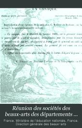 Réunion des sociétés des beaux-arts des départements ...: Volume23
