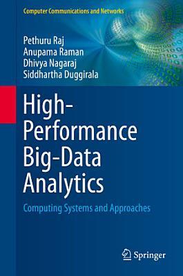 High Performance Big Data Analytics PDF
