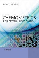 Chemometrics for Pattern Recognition PDF