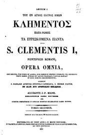 Patrologiae cursus completus ...: Series graeca, Volume 2