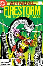 The Fury of Firestorm: Annual (1983-) #4
