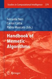 Handbook of Memetic Algorithms