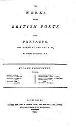 The Works of the British Poets: Cooke's Hesiod, Fawkes's Theocritus, Anacreon, Sappho, Bion, Moschus, Fawkes's Musaeus, Apollonius Rhodius, Mr. C