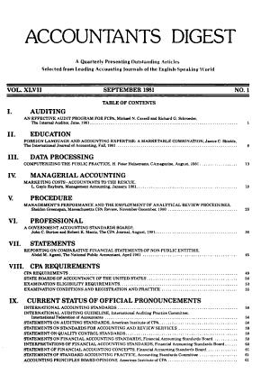 The Accountants Digest PDF