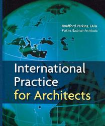International Practice For Architects Book PDF