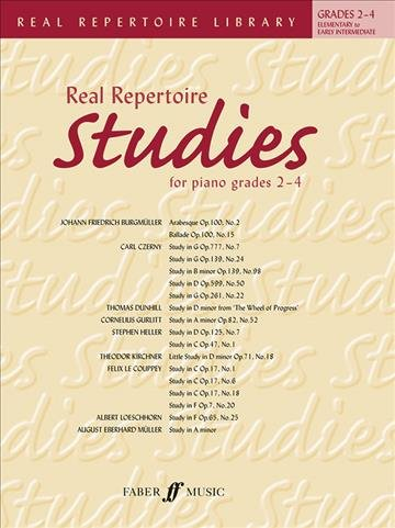 Real Repertoire Studies for Piano Grades 2 4