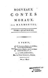 Nouveaux contes moraux, par Marmontel