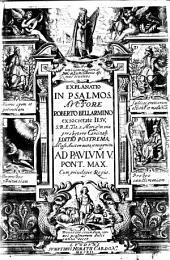 Explanatio in Psalmos [cum textu]