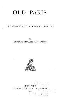 Old Paris PDF