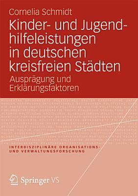 Kinder  und Jugendhilfeleistungen in deutschen kreisfreien St  dten PDF