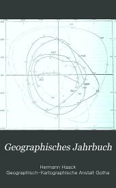 Geographisches Jahrbuch: Bände 22-23