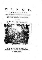 Canut: treurspel, Volume 1