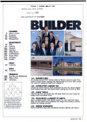 BUILDER, THE MAGAZINE OF THE NATIONAL ASSOCIATION OF HOME BUILDERS, MAY 1988