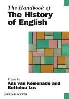 The Handbook of the History of English PDF