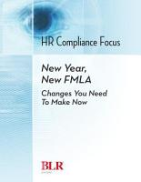 New Year  New FMLA  Changes You Need to Make Now PDF