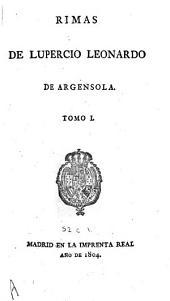 Rimas de L.L. [and] B.L. de Argensola