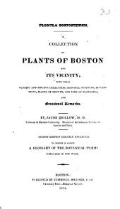 Florula bostoniensis: A collection of plants of Boston and its vicinity