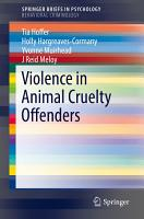 Violence in Animal Cruelty Offenders PDF