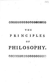 The Principles of Philosophy: Volume 11