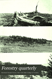 Forestry Quarterly: Volume 13; Volume 1915