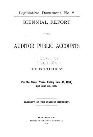 Kentucky Public Documents PDF