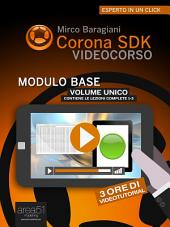 Corona SDK Videocorso. Modulo base: Volume unico